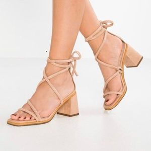 Topshop Nashville Tubular Strappy Sandals